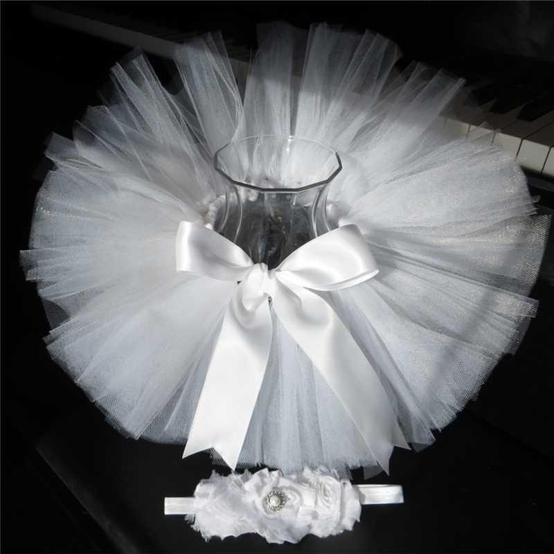 Arco Iris bebé recién nacido niñas Tutu falda 1st falda de fiesta de cumpleaños encuentro diadema fotografía infantil niño Tutu faldas PQ030