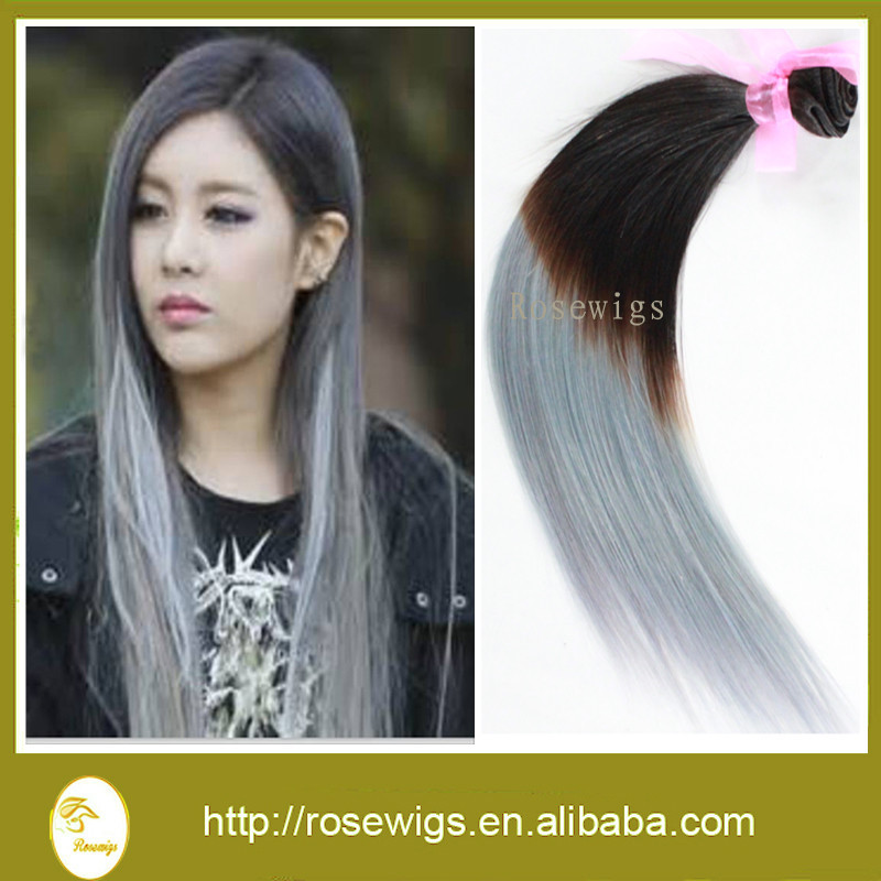 Best Quality 3pcs Peruvian Virgin Hair Straight Ombre Hair