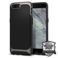 Original Spigen Neo Hybrid Case For OnePlus 5 Gunmetal K04CS21515 Case With Flexible Inner Protection And