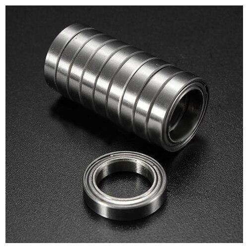 10pcs Miniature Sealed Metal Shielded Metric Radial Ball Bearing Model: 6701 ZZ 12x18x4MM