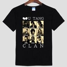WU TANG CLAN neue herrenmode baumwolle kurzhülse Runde kragen T-shirt