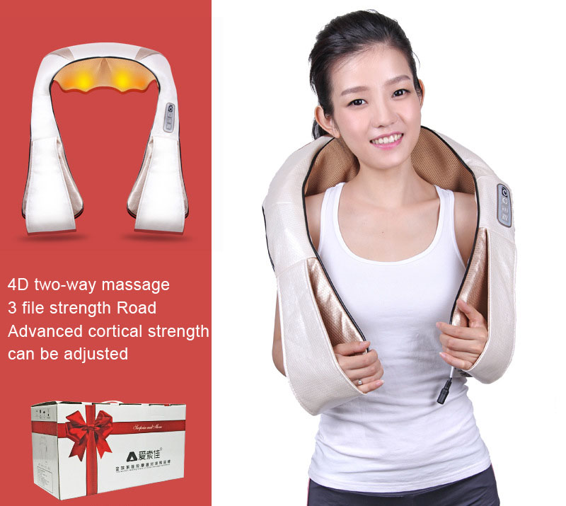 все цены на Upgraded Neck Shoulder Massage Version Massage Shawl Massage Neck Household Shoulder And Neck Massager Kneading Heater