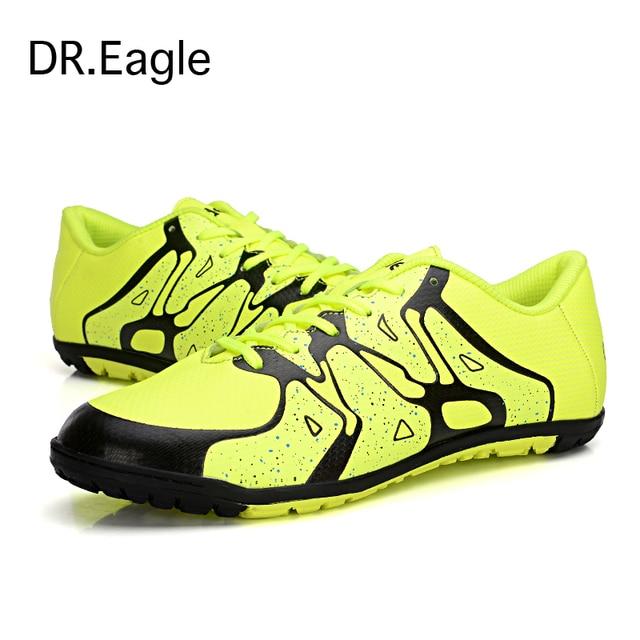 Crianças sapatos de futebol de salão para homens bota futsal sapatos criança  33-44 tamanho 90113a7621dcf