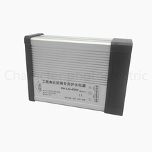AC 187-265V LED Driver 400W 12V 33.3A LED Power Supply Rain-proof LED Light Power Adapter Outdoor Application manufacturers output 400w 24v 16 7a switch power fy 400w 24v led drive high power instrumentation dc power supply rain proof