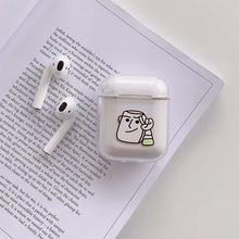 Anime Toy Story Buzz Lightyear dumbo Hard PC case For Apple airpods 1 2 Wireless Bluetooth Earphone Case