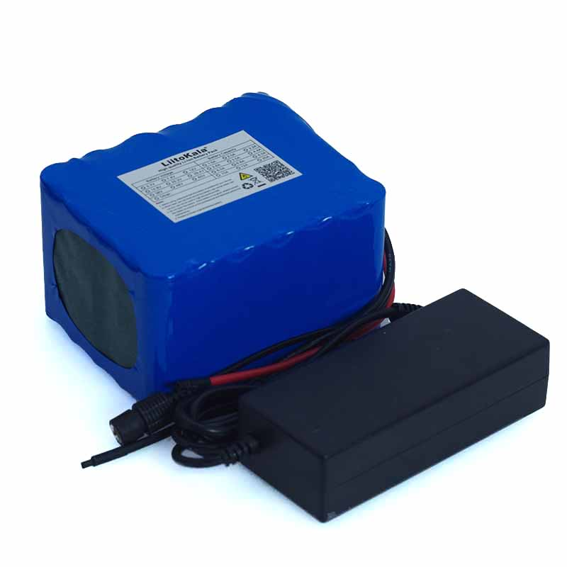 Image 5 - LiitoKala 24V 10Ah 6S5P 18650 Battery li ion battery 25.2v 10000mAh electric bicycle moped /electric battery pack+2A Charger-in Battery Packs from Consumer Electronics