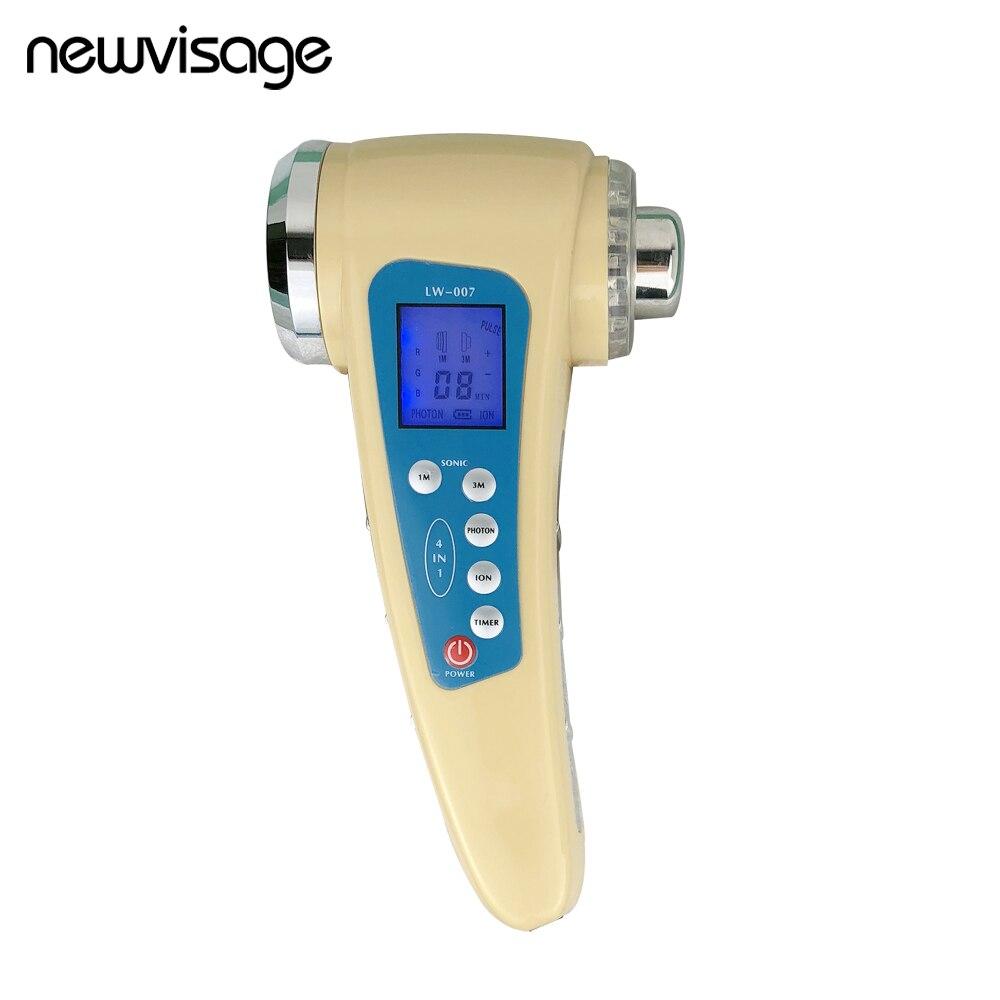 Visage et Corps De Massage 1 m Ultrasons Cavitation Corps Minceur Masseur Photon Thérapie 3 m À Ultrasons Visage Dispositif Soins de La Peau outil