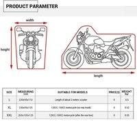 motorcycle raincoat Newest Moto Waterproof Outdoor UV Motorcycle Bicycle Dust Shield Raincoat L / XL / 2XL 5.22 Waterproof Dustproof (3)