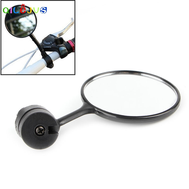 Safety Mirror 360 Bicycle Bike Handlebar Flexible Cycling Rear View Rearview ...