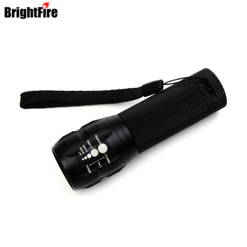 Professional for Lighting! CREE Q5 Mini LED Flashlight 3 Modes Zoomable LED Light lanterna strong lumen penlight
