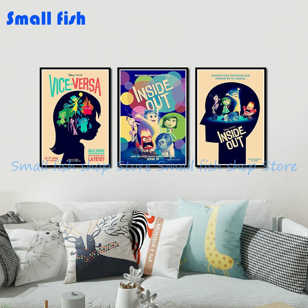 cat sunglass kraft paper bar poster retro poster decor painting wall sticker  zi