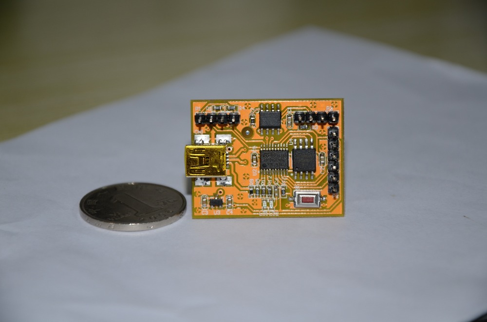Free Shipping   STM32F042F4P6 STM32F042F6P6 TSSOP20 USB CAN Development Board Evaluation Board