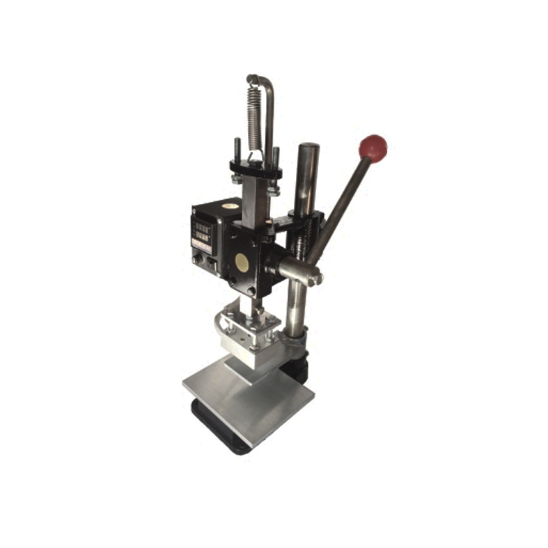 Hot Foil Stamping Pressure Mark machine 5.*7cm Manual Bronzing Machine for PVC leather PU Bags Wallet Shoes insole Stamping 8360 hand pressure sampling machine laser knife mold leather stamping machine manual leather mold die cutting machine