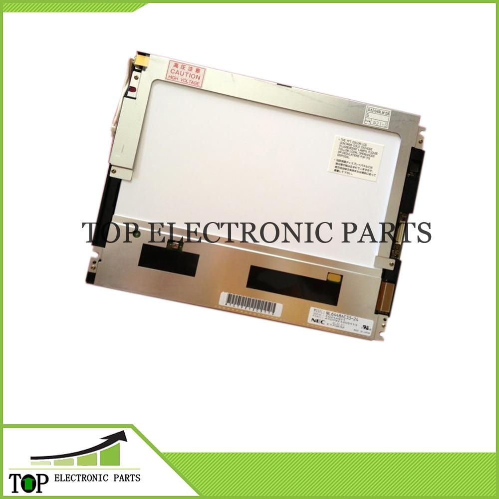 Original 10.4inch 640*480 CCFL Display For NEC NL6448AC33-24 NL6448AC33-27 NL6448AC33-29 LCD Screen Panel