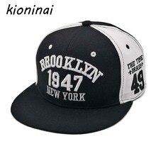 ... New York  Kioninai 1947 Baseball Cap Sport Hat Gorras Planas Snapback  Caps Hip Hop Hats Snapbacks Casquette Polo  Glaedwine 1947 Brooklyn ... 64e66dae62e