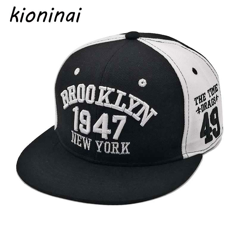 Kioninai 1947 Baseball Cap Sport Hat Gorras Planas Snapback Caps Hip Hop Hats Snapbacks Casquette Polo Cap new 2017 fashion unisex cap bones baseball cap snapbacks hat simple hip hop cap casual sports female hats wholesale