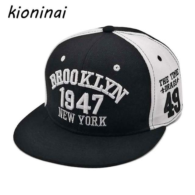 33f6a6b3257 Kioninai 1947 Baseball Cap Sport Hat Gorras Planas Snapback Caps Hip Hop  Hats Snapbacks Casquette Polo Cap