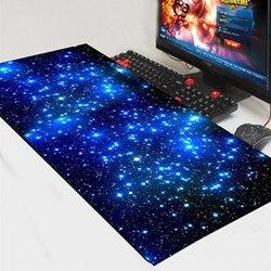 Almofada do mouse do jogo bloqueio borda grande tapete do mouse computador portátil teclado para apple mackbook cs go dota 2 lol