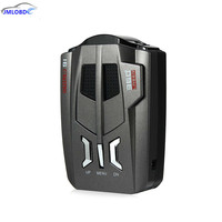 V9 12V Car Radar Detector English Russian Voice OEM Language LED Display Driving Safely Avoiding Fine