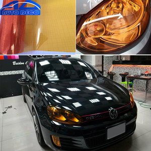 Image 5 - Film brillant pour phare de voiture, 13 couleurs, feu antibrouillard, feuille de Film pour phare de voiture, 30x200cm