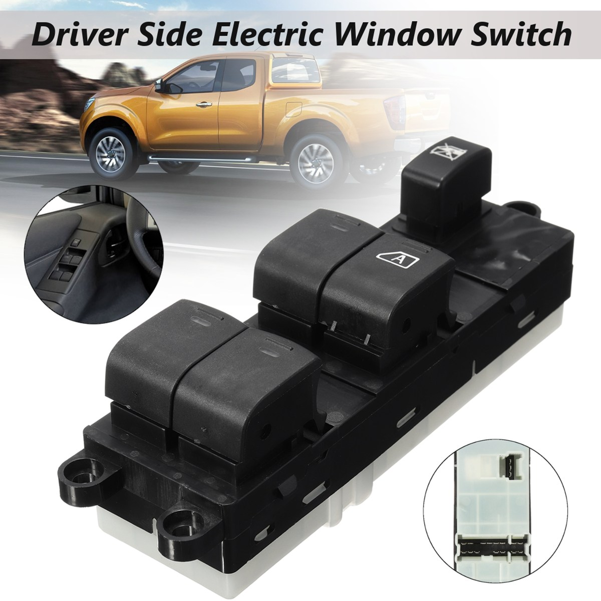25401 Eb30b 25401eb30b Abs Frontright Driver Side Electric Power Nissan Navara Fuse Box Location Window Switch For 2011 2012 2013 2014 In Car Switches Relays From