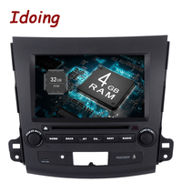 Idoing 2Din 8 2G 32G For Mitsubishi Outlander Android 6 0 Steering Wheel Octa Core Car
