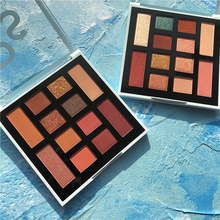 12 Color Eyeshadow Palette Matte Shimmer Shining Makeup Glitter Pigment Smoky Eye Shadow Pallete Cosmetic