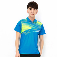 New badminton clothes, badminton jerseys, summer sweat absorption, dry table tennis, men's sportswear, free delivery