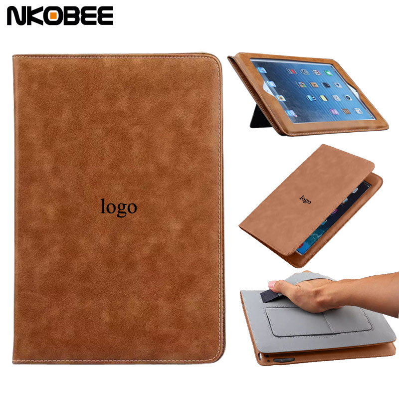 NKOBEE For iPad 2 3 4 Case Leather Flip With Original LOGO Tablet Case For iPad 4 Cover Stand Hands Holder For iPad Case 4 cartoon painted flower owl for kindle paperwhite 1 2 3 case flip bracket stand pu cover for amazon kindle paperwhite 1 2 3 case