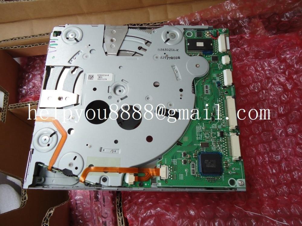 100 Original new Alpine 6 Disc CD changer mechanism DZ63G21A for Civci Hyundai Mercedes car radio