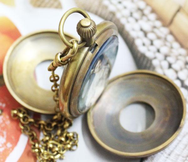New Design Two Cover Tourbilon MoonPhase Pocket Watch freeship все цены