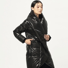[XITAO] New winter Korean wind fashion brief style solid color thick full regular length female down & parkas,BCB-012