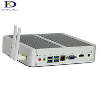 2017 Newst Intel Core i3 7100U 6100U 5005U Fanless Mini PC 4K Streamer HTPC HDMI VGA Desktop Computer