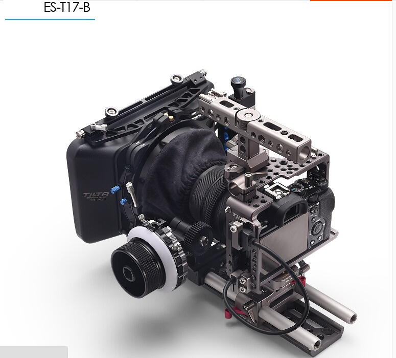 DHL Tilta A7 Rig Kit Cage Baseplate Follow focus 4*4 Lightweight Matte box for Sony A7S A7S2 A7R2 camera digitalfoto tilta a7 professional dslr camera rig cage with baseplate wooden handle top handle for sony a7 a7s a7s2 a7r a7r2