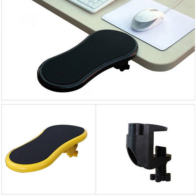 Alangduo Armrest Pad Mousepad Desk Attachable Computer Table Arm Mouse Pads Elbow Bracket Wrist Rest Hand Shoulder Protect In From