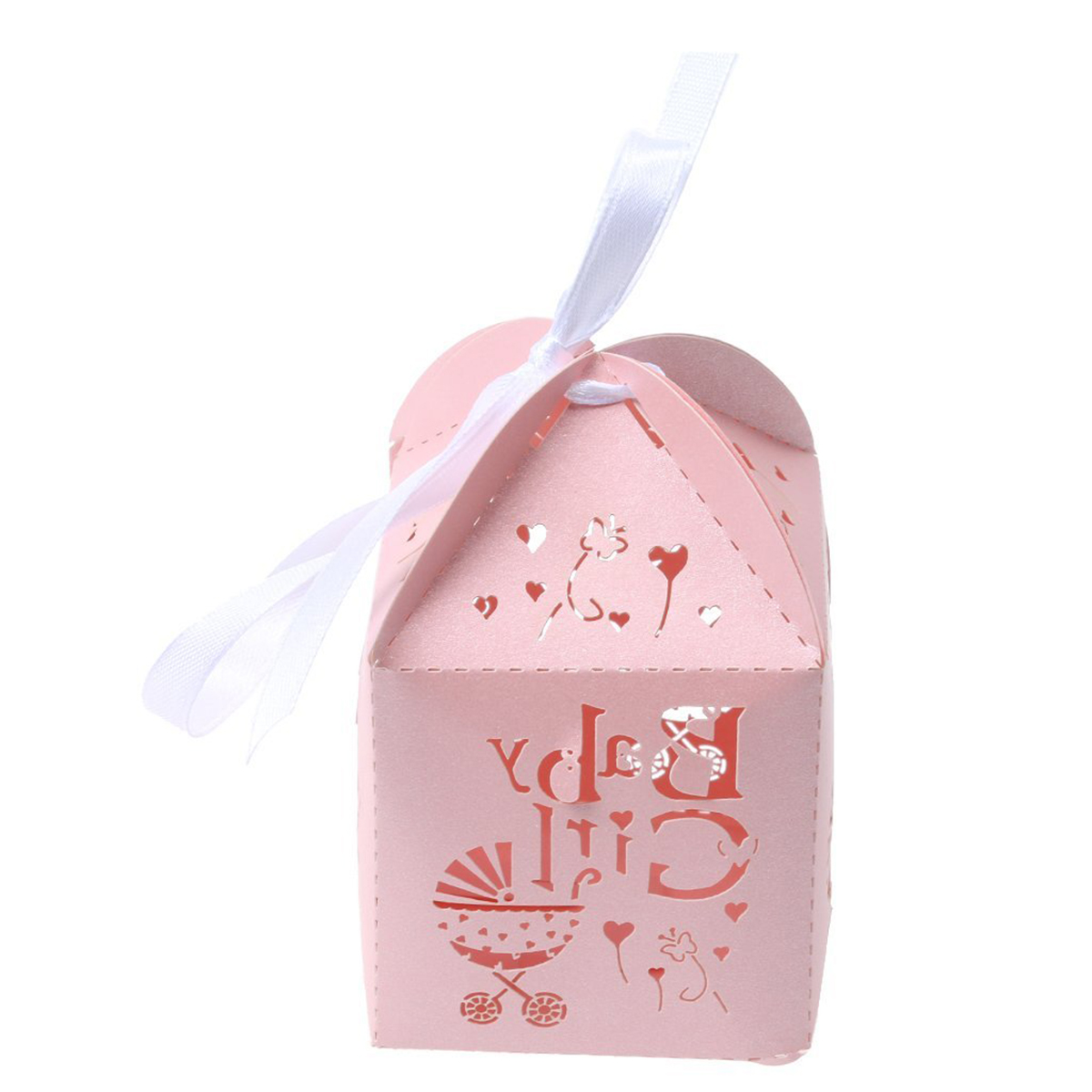 50pcs Paper Candy Sweets Gift Bonboniere Cardboard Boxes Wedding ...