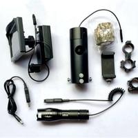 5 LCD Display Digital Night Vision Scope Add on Riflescope with Infrared Flashlight Hunting Sight Optics Device