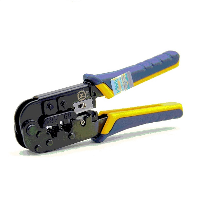 HT-568R Wire Stripper Multifunction Network Crystal Head Crimping Plier Phone Cable Wire Cutter Crimper Tool