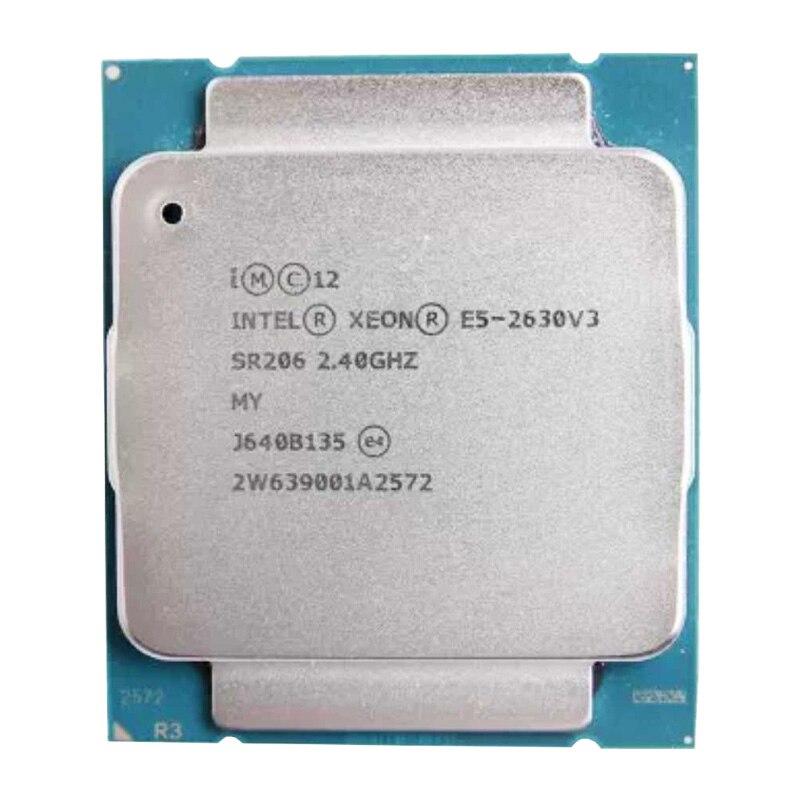 E5 2630V3 Original Intel Xeon E5 2630 V3 2.40GHZ 8-Core 20M Cache  DDR4 1866MHz FSB FCLGA2011-3 85W