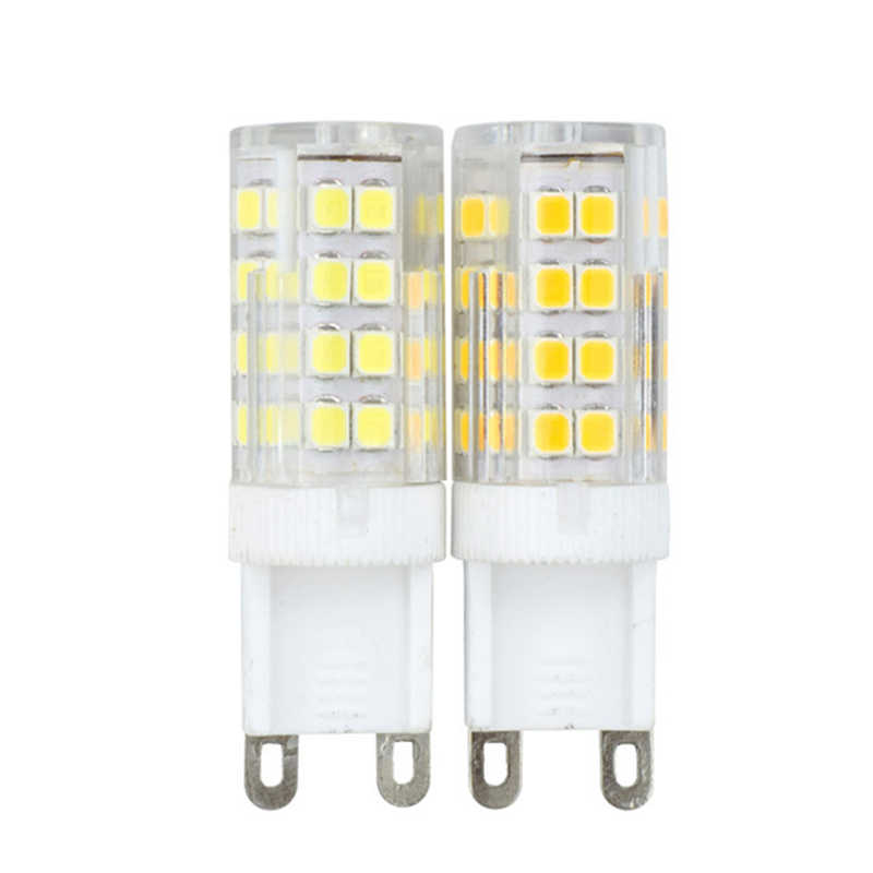 הכי חדש G9 led 5W 7W 9W 12W AC220V 240V G9 led מנורת Led הנורה SMD 2835 LED g9 אור להחליף 30W 40W 50W 70W 90W הלוגן מנורת אור