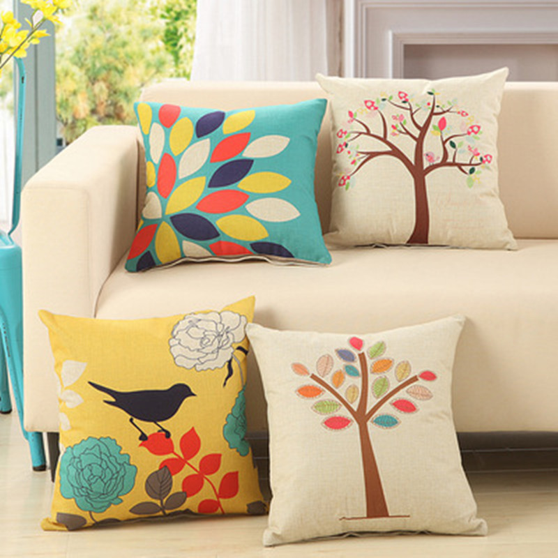 Buy bz009 fashionable flower cushion for International home decor stores