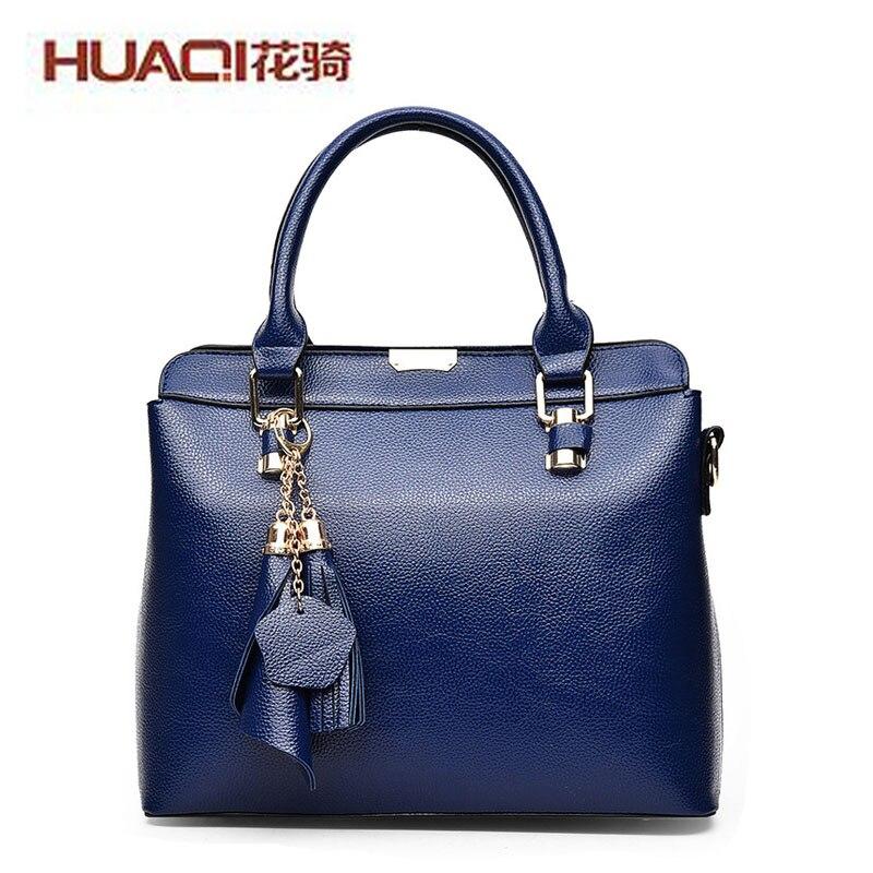 ФОТО 2017 New Arrival Women Bag Pu Leather High Quality Designers Tassel Women'S Shoulder Bags Messenger Bag Ladies HQA-24#