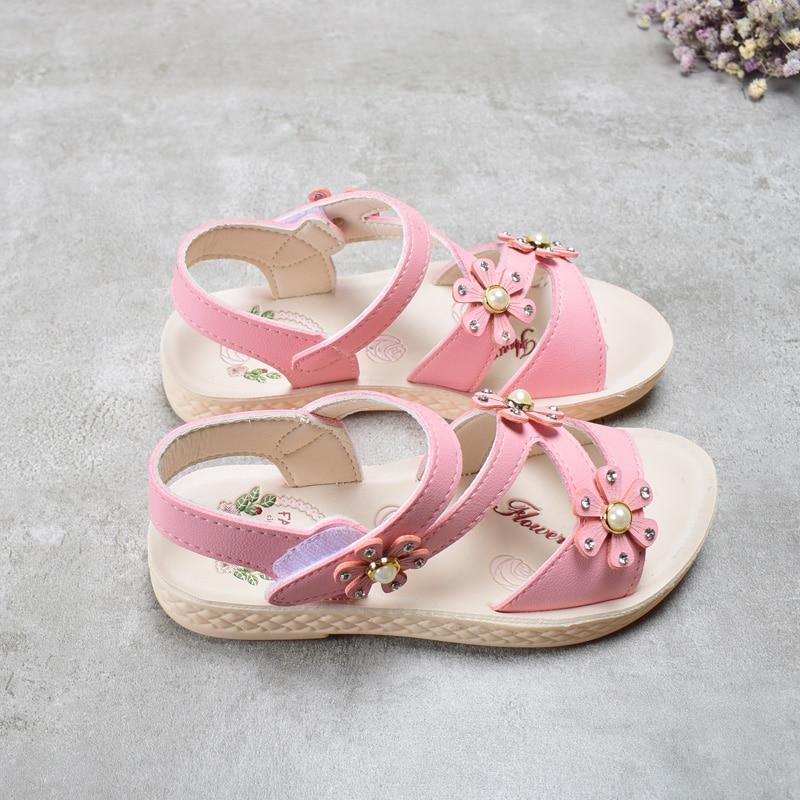 DIMI 2018 nieuwe kinderen meisjes zomer schoenen kinderen sandalen - Kinderschoenen - Foto 2