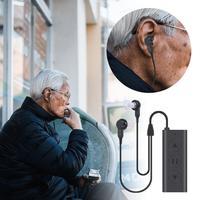 Портативный беспроводной для слуховые аппараты Bluetooth наушники IPX4 водонепроницаемый слуховой вспомогательный слуховой аппарат HD усилитель...