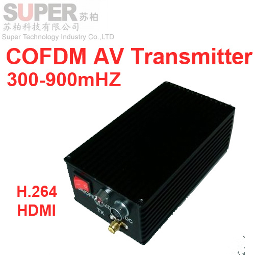 HDMI NLOS Transmitter Video Digital COFDM Av Transceiver Drone Image Transmission 300 900mhz For