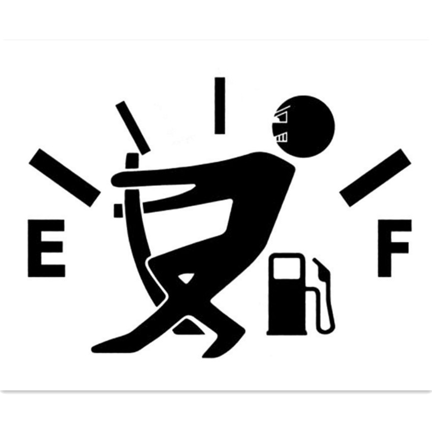 Funny Car Sticker Fuel Tank StickerS Decal FOR peugeot 207