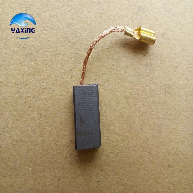Spazzole di carbone per motori elettrici # 6-100 5x8x15mm Fine 10 - Accessori per elettroutensili - Fotografia 3