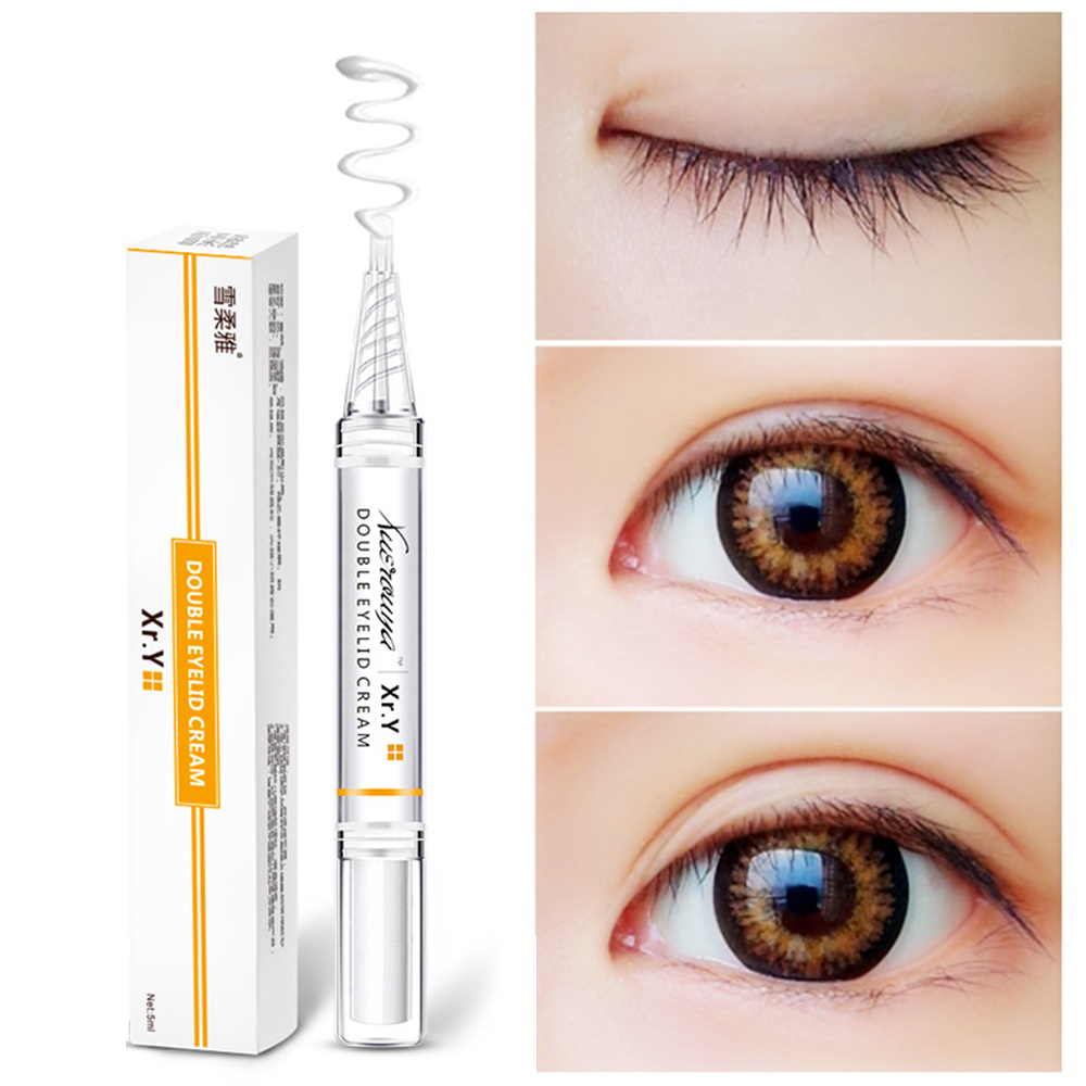 Eyelid Lift Gel Cream For Women Double Eye Glue Instant Styling Big Dual Eyes Creams Make Up Tools Professional Invisible LQ