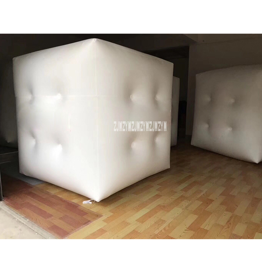 Customized 3M 0.18MM Advertising Balloon PVC Square Cube Inflatable Balloon With LED Lights For Advertising 220V 18W Hot Sale