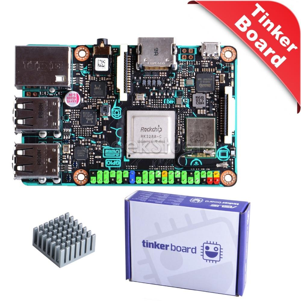 Official! ASUS SBC Tinker Board RK3288 SoC 1.8GHz Quad Core CPU 600MHz Mali-T764 GPU, 2GB LPDDR3 Tinkerboard gpd xd 5 inch android4 4 gamepad 2gb 32gb rk3288